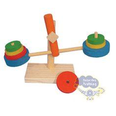 Balancinha, Balancinha Simque Brinquedos, Balancinha de Madeira, Balancinha de brinquedo, Balancinha para aula de matemática, balancinha de brinquedos
