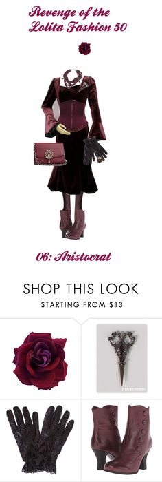 """Revenge of the LF50: Aristocrat"" by sakuuya ❤ liked on Polyvore featuring John Lewis, Miz Mooz, Darling, victorianmaiden, moimememoitie, metamorphose, aristocrat and lolitafashion50"