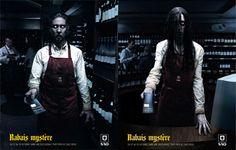 Rabais Mystere   #ads #seasonal #samhain #spooky #adv #event #marketing #creative #Halloween #print #poster #advertising #campaign < found on www.csscreme.com pinned by www.BlickeDeeler.de   Have a look on www.Printwerbung-Hamburg.de