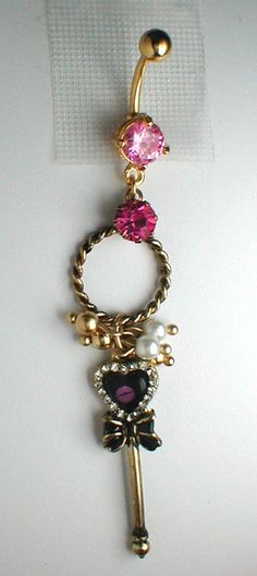 Unique Belly Ring Key from Engagement Series by Who says you have to ask with a FINGER ring? Now I need my belly button pierced lol Bellybutton Piercings, Cute Piercings, Body Piercings, Piercing Tattoo, Unique Belly Rings, Cute Belly Rings, Belly Button Jewelry, Belly Button Rings, Cute Jewelry