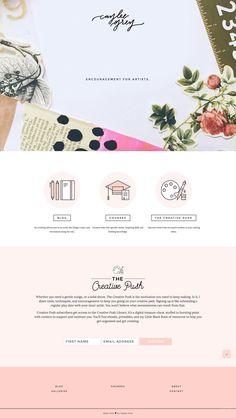 Caylee Grey Website Theme Design