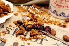 Domácí kvásková granola snadno a rychle, přesně dle vaší chutě Granola, Korn, Cereal, Breakfast, Morning Coffee, Muesli, Breakfast Cereal, Corn Flakes
