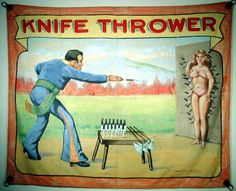 I seriously want to learn to do this.  I have the desire and my own set of throwing knives.  But knife-throwing instruction is harder to find than you might think...