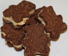 Chocolate PB Stuffed Teddy Grahams - Maria Mind Body Health #Teddy_Bear_Recipes