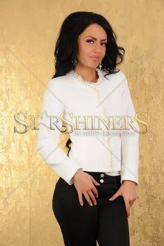 Sacou PrettyGirl Deluxe White
