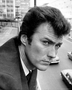 Clint Eastwood, solemn