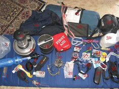 Basic Backpacking Gear List Whats In Your Backpack