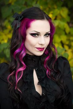 Milena Grbovic excellent #Goth girl