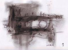 """Saatchi Art Artist michele petrelli; Painting, """"La prigionia del Sole e della Luna"""" #art"""