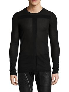 Knit Paneled Top from Spotlight Steals on Gilt