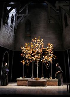 Doubt. The Alliance Theatre Company. Set design by Todd Rosenthal.