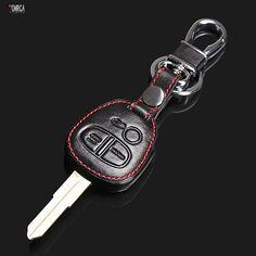 Высокое качество 3 кнопки для Mitsubishi Outlander PAJERO LANCER EX/Mitsubishi ASX Кожа дистанционного управления автомобилем брелок для ключей