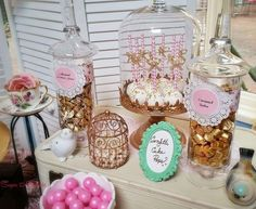 Vintage / Retro Baby Shower Party Ideas   Photo 8 of 16   Catch My Party