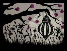 Find Light Wherever You Look - 8 X 10 inch Cut Paper Art Print Paper Cutting, Cut Paper, Baby Pearls, Paper Artwork, Love Craft, Deathly Hallows Tattoo, Art World, Fall Halloween, Fine Art Paper