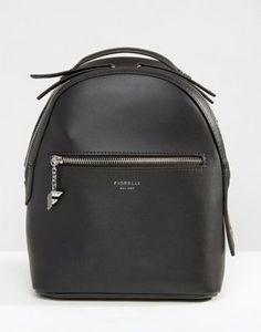 Черный рюкзак мини Fiorelli Anouk