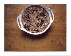 Orangette: Baked Oatmeal Adapted from Heidi Swanson's Super Natural Every Day Baked Oats, Baked Oatmeal, Blueberry Oatmeal, Oatmeal Recipes, Shredded Coconut, Recipe Of The Day, Breakfast Of Champions, How To Dry Basil, Granola