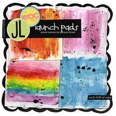 Launch Pads vol. 21 - POP of Color by Jacque