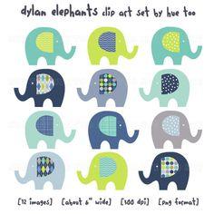 I love this. Might do elephants instead of dinosaurs... so many choices!