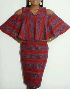 Latest Ankara Gowns This Season Has To Offers - Fashion Ruk Latest African Fashion Dresses, African Dresses For Women, African Print Dresses, African Print Fashion, Africa Fashion, African Attire, African Wear, Fashion Prints, Fashion Design