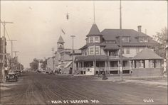 RP: Main Street , SEYMOUR , Wisconsin , PU-1926