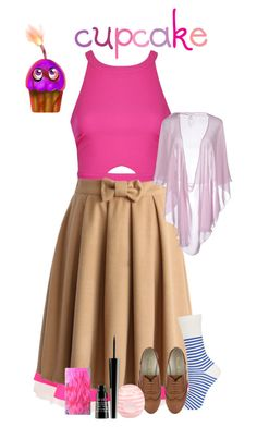"""The Cupcake FNAF"" by wolfgirl-12 ❤ liked on Polyvore featuring Ballet Beautiful, UNIF, Ally Fashion, Chicwish, Topshop, Valentino Roma, River Island and Lord & Berry"