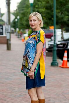create a top from scarves | We had this idea to make a scarf top for a while now and when we found ...