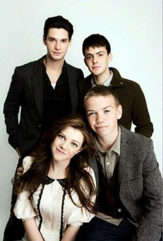 From top left - Prince Caspian, Edmund, Lucy, and Eustace (Ahh!!! Lucy is so old! my childhood! :'( )