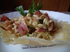 risotto con speck e zafferano (2)