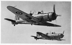 The Blackburn Roc was a British Fleet Air Arm fighter of the second world war. Derived from the Blackburn Skua, the Roc had its armament in a turret. Ww2 Aircraft, Fighter Aircraft, Fighter Jets, Military Helicopter, Military Aircraft, Royal Navy Aircraft Carriers, Mythical Birds, African American History, Native American