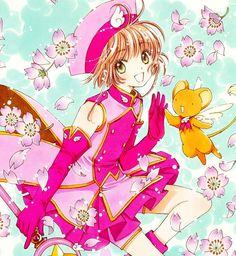 Sakura Kinomoto (木之本さくら) & Keroberos (ケルベロス), Kero-chan, Kero, Cerberus | Cardcaptor Sakura (カードキャプターさくら), CCS, Cardcaptors, Card Captor Sakura | CLAMP