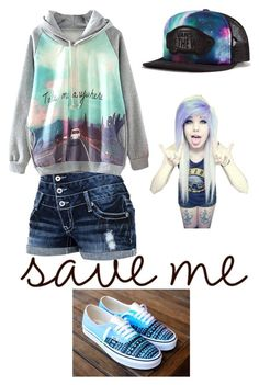 """""""Rainbow"""" by veronicapablo ❤ liked on Polyvore featuring Vans"""