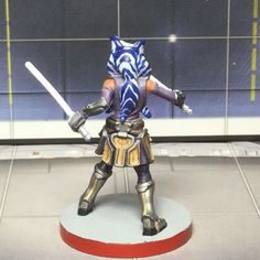 Ahsoka Tano all painted up for Imperial Assault - star wars post - Imgur