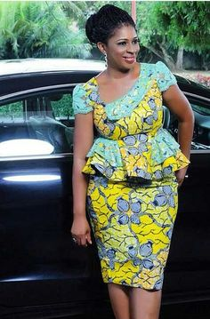 Big and Beautiful ladies african print ankara gown styles for plus size ladies, plus size ladies ankara peplum top styles, ankara skirt and peplum styles for thick and curvy ladies, trendy ankara gown styles for thick and curvy ladies African Fashion Ankara, African Inspired Fashion, African Print Dresses, Ghanaian Fashion, African Print Fashion, Africa Fashion, African Dress, African Prints, Nigerian Fashion