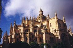 And another view of Salamanca's cathedral.