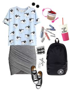 """Back To School 2015 #2"" by mk-style ❤ liked on Polyvore featuring GUESS, Converse, Anne Klein, Sistema, women's clothing, women's fashion, women, female, woman and misses"