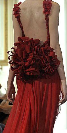 Valentino, Valentino Garavani, fashion, haute couture, womenswear, dress, gown, couture, catwalk, runway, designer