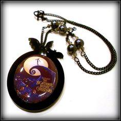 Nightmare Before Christmas Merchandise necklaces   Tim Burton's Nightmare Before Christmas Necklace