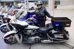 Windsor Police Constable- Victory Motorcycle