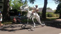 Bicicleta dinosaurio