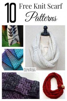 10 Free Scarf Crochet Patterns