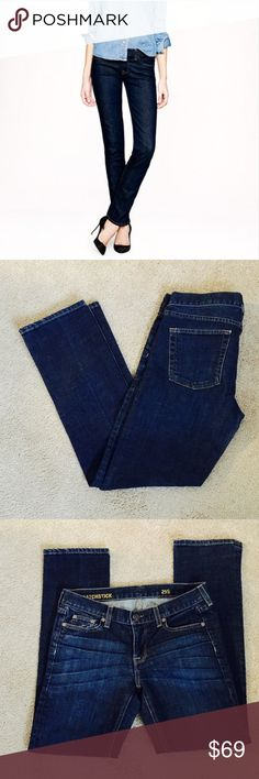 ❗️J. Crew Matchstick Dark Denim Jeans MSRP $115 ❗️J. Crew Matchstick Dark Denim Jeans. Retails $115. In great condition! Size 29 S so slightly shorter than regular, can be worn as crop.  Make an offer! I consider all reasonable offers on individual items & give great bundle deals. New Year cleanout sale ;-) J. Crew Jeans