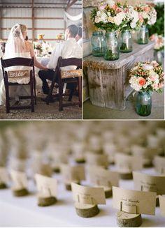 rustic wedding love