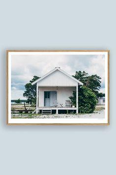Tambur Gallery | Furillen 70x50cm | TAMBURSTORE.SE Wabi Sabi, Branches, Magnolia, Construction, Cabin, Studio, House Styles, Gallery, Prints