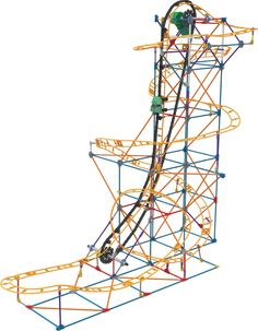 Knex Roller Coaster K Nex Crossfire Chaos Roller Coaster
