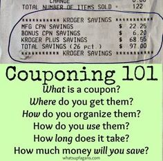 How to get free groceries every week without extreme couponing everything you need to know about couponing and how much you can expect to save fandeluxe Image collections