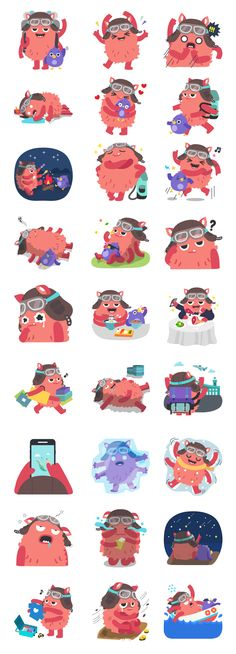 character stickers for Volo Doodle Characters, Chibi Characters, Cute Characters, Simple Character, Game Character, Character Concept, Autumn Illustration, Children's Book Illustration, Character Illustration