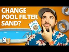 Save money, clarify pool water, and keep your family safe from dangerous water-borne illnesses by changing pool filter sand yourself, quickly and easily. Pool Filter Sand, Pool Sand, Pool Filters, Pool Cleaning, House Cleaning Tips, Pool Warmer, Pool Lounge Float, Swimming Pool Maintenance, Cool Pools