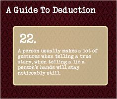 A Guide To Deduction #22