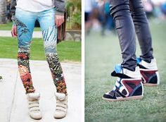 wedge // sneakers