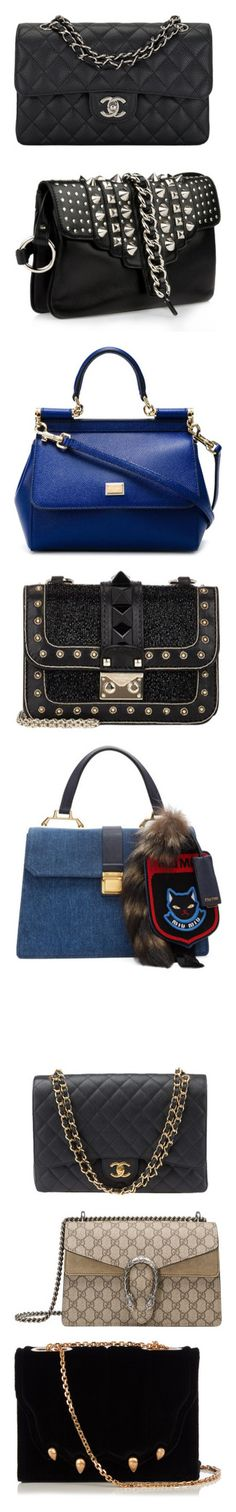 """""""Bags"""" by thenutty ❤ liked on Polyvore featuring bags, handbags, chanel, purses, chanel bags, black, quilted purses, leather flap handbags, chanel purse and handbag purse"""